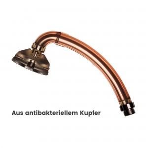 BUBBLE-RAIN® espresso XL aus antibakteriellem Kupfer