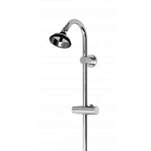Duschsystem-Brausestange mit BUBBLE-RAIN Kopfbrause
