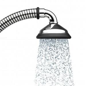 seidenweiche Wasserblasen mit BUBBLE-RAIN Duschbrause espresso XL